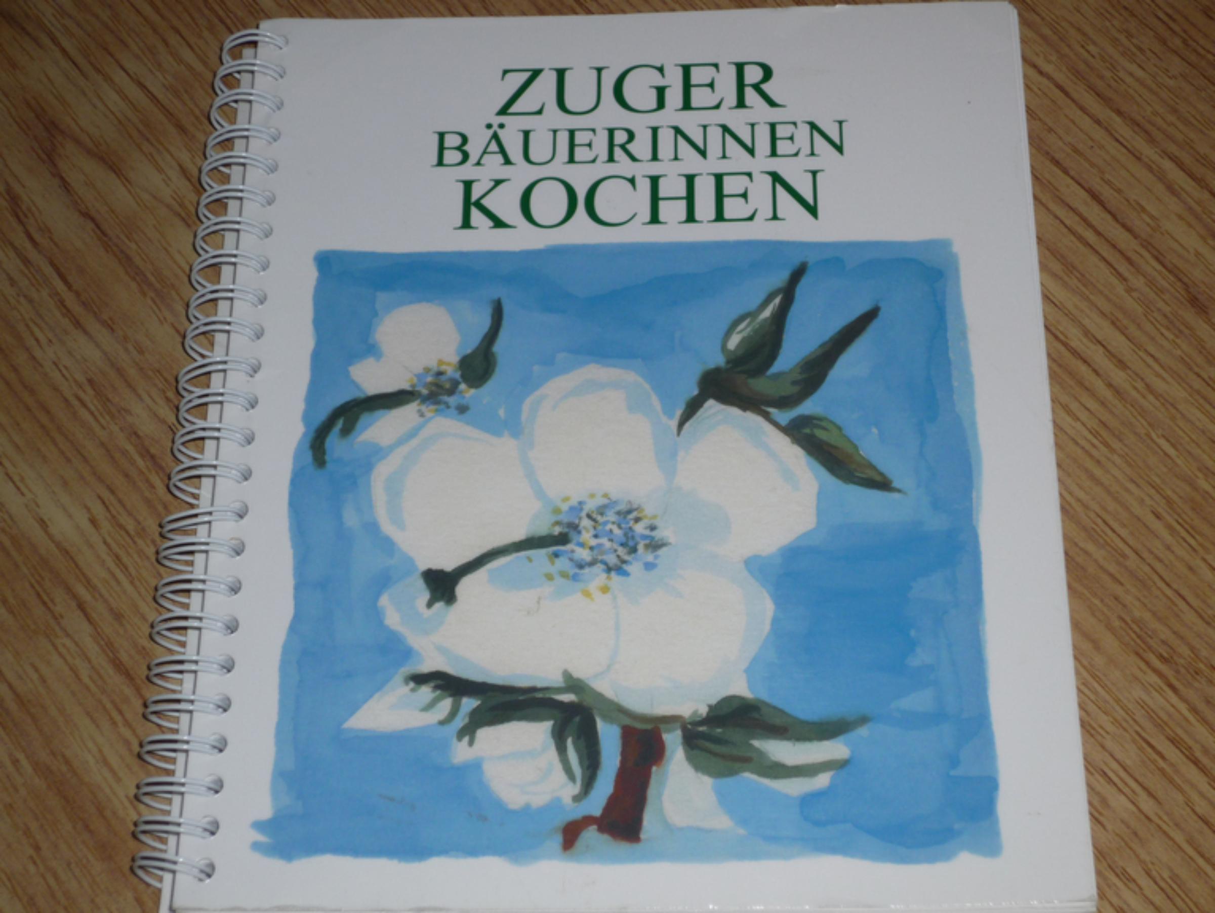 Kochbuch Zuger Bäuerinnen